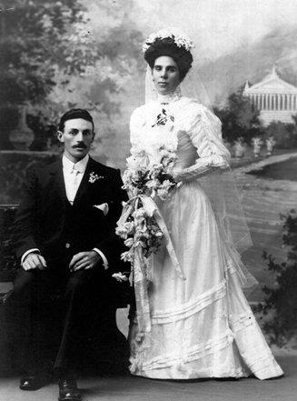 Albert & Kate Jackson Wedding 1907