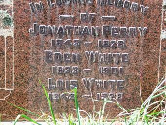 Eden White headstone VT cemetery.JPG